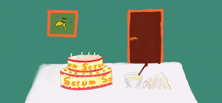 Scrumkuchen – Wie backe ich einen agilen Scrumkuchen?
